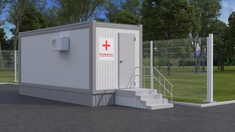 Решения для разграничения санитарно-эпидемиологических зон в медицинских учреждениях-1